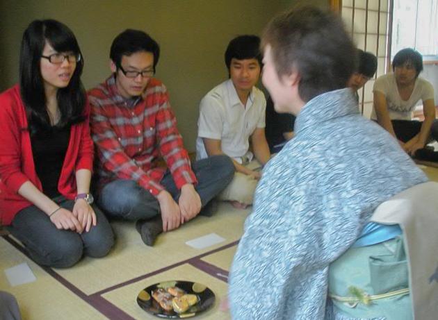 """Чайная церемония для студентов """"YIEA"""""""