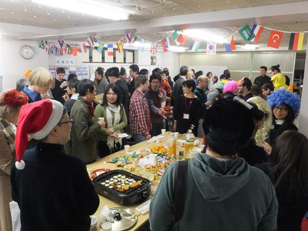 новогодняя вечеринка в школе японского языка Интеркультура