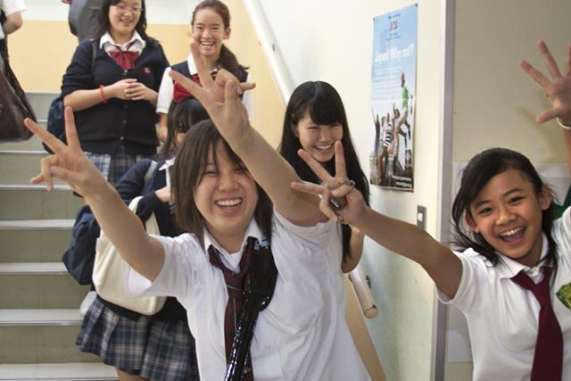 старшая школа в Японии