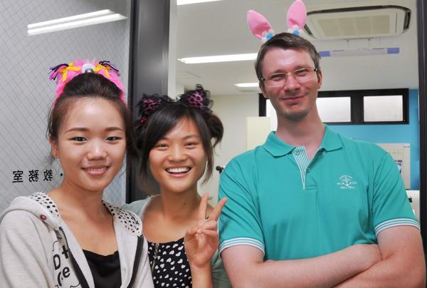 Евгений Осипов, студент японской языковой школы TLS