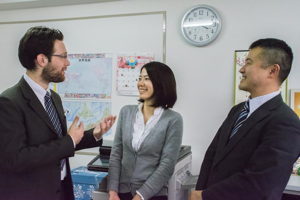 Джордано Стриццоло, менеджер компании Homestay in Japan
