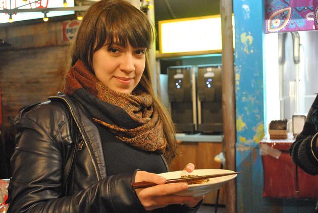 Кафе в музее лапши