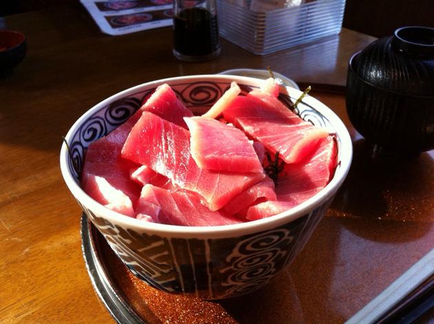 Обед в Иокогаме