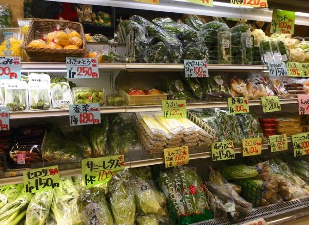 Покупка продуктов в Иокогаме