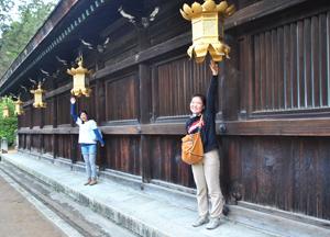 Храм около языковой школы