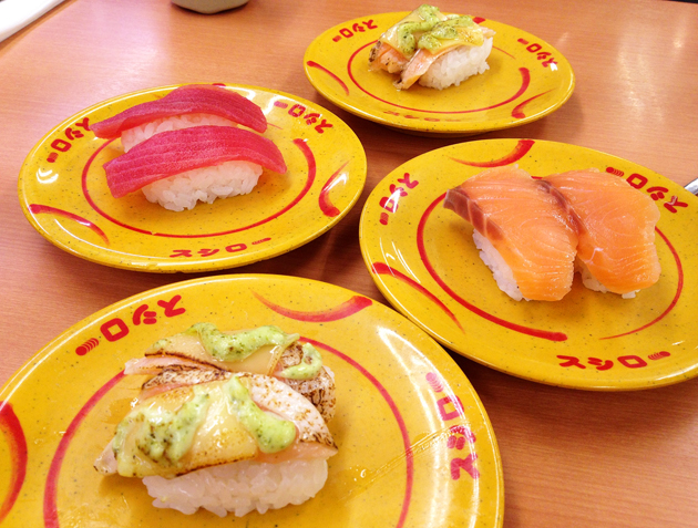 Суси-бар в Японии