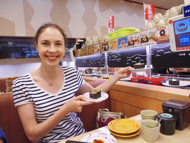 Студентка языковой школы в Иокогаме