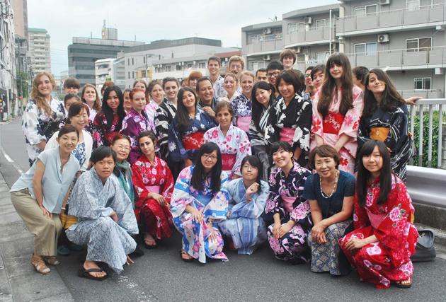 обучение в Японии, летняя программа