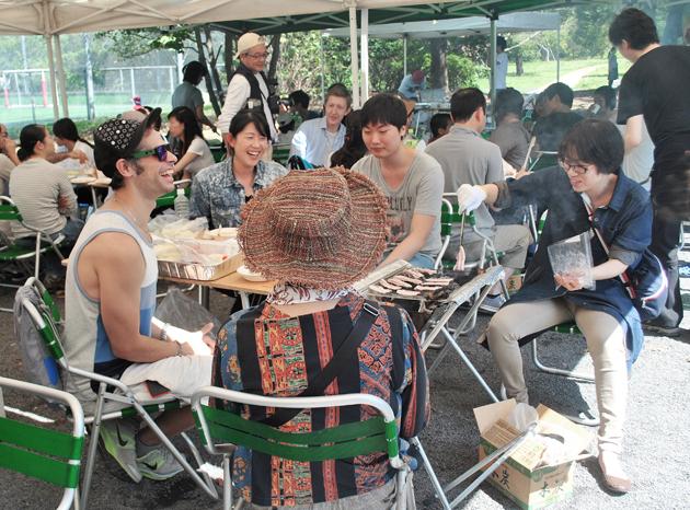 общение студентов, Япония, обучение