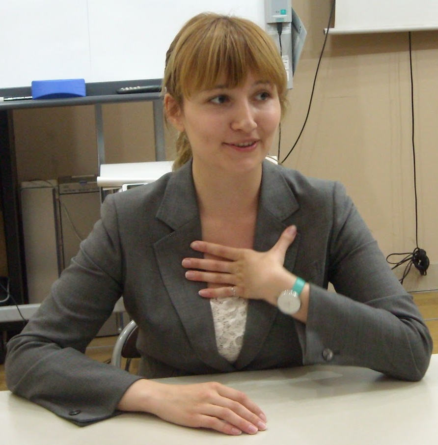 Мария Шамина - выпукница школы Арк-Академия