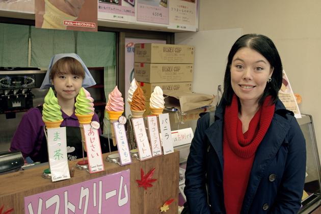 мороженое, что поесть в Камакуре