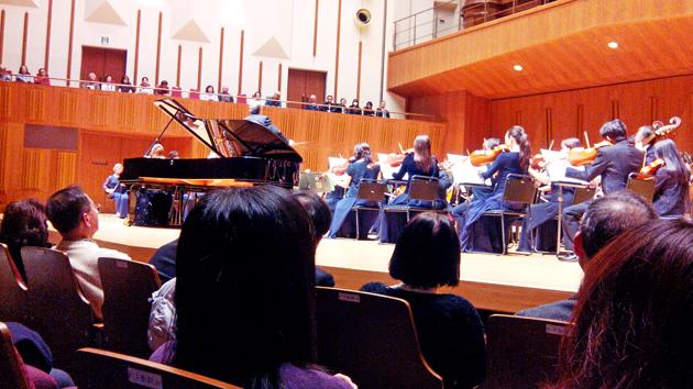 концерт, оркестр, Токио