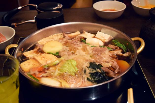 сукияки, японская кухня