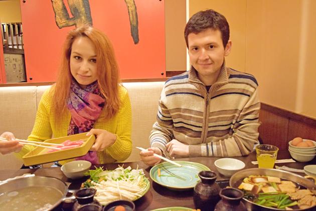 жизнь в Японии, японский ресторан