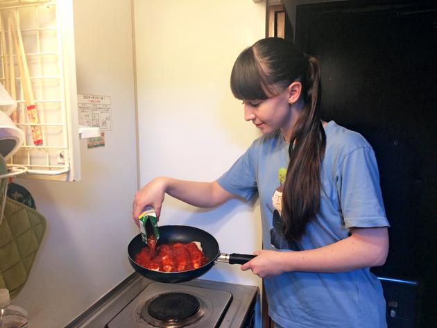 учеба в Японии, еда
