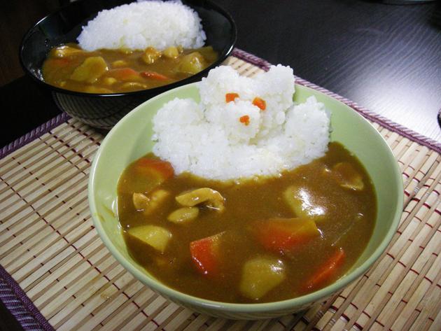 карри, еда в Японии