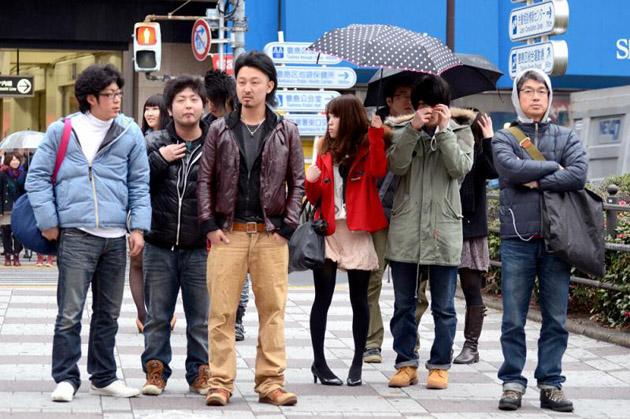 повседневный стиль, одежда японцев