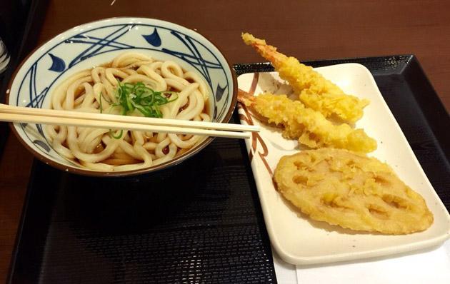темпура, японская еда