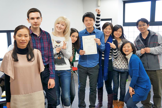 учеба в Японии, языковая школа