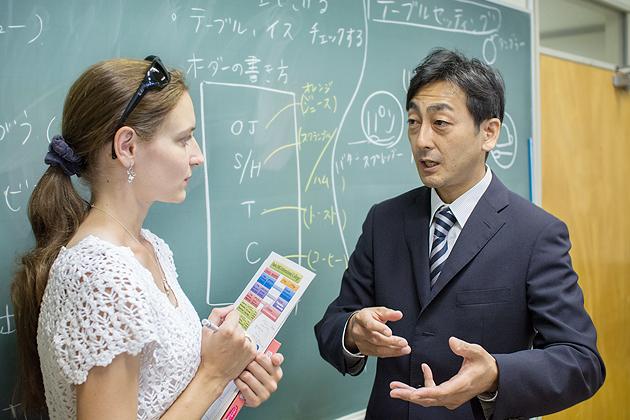 интервью с преподавателем, YMCA