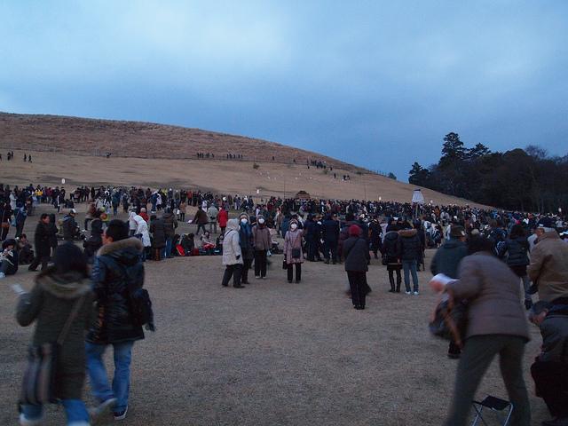 Народ готовится к фестивалю