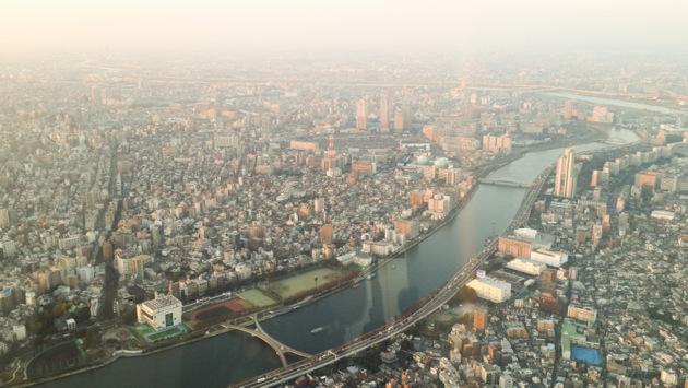 Токио, вид, Skytree