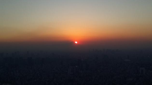 Закат, skytree