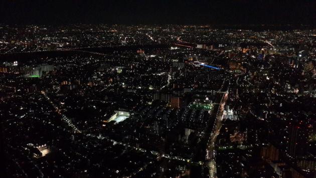 Токио, ночной вид