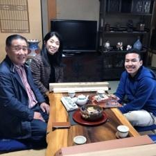 Первый студент из Ронерт-Парка, посетивший город-побратим в Японии, привез с собой подарок