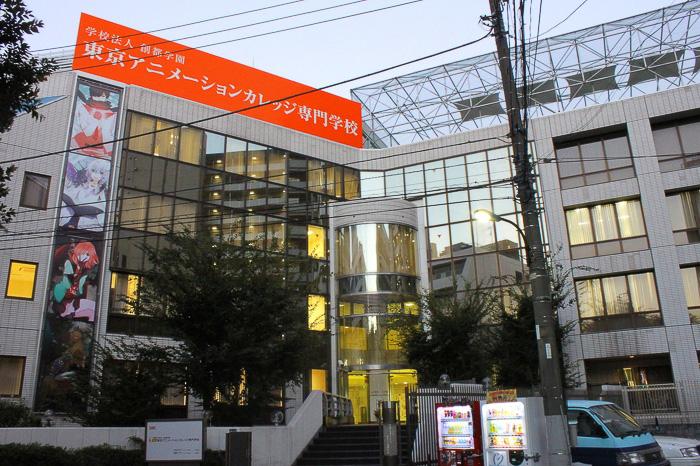 японский колледж, где учатся на профессию мангака