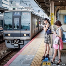 Как пользоваться поездами в Японии?