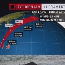 Что делать во время тайфуна?