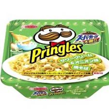 Попробуйте рамэн быстрого приготовления со вкусом «Pringles» и чипсы «Pringles» со вкусом рамена