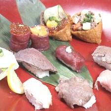Суши с мясом для Инстаграма