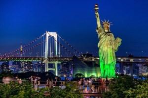 Статуя Свободы на Одайбе