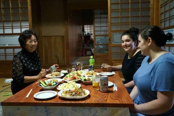 проживание в японской семье