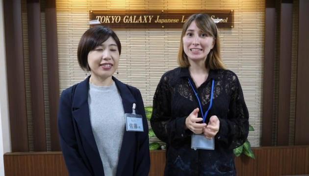 ToriChyan и Сато-сан из школы Tokyo Galaxy
