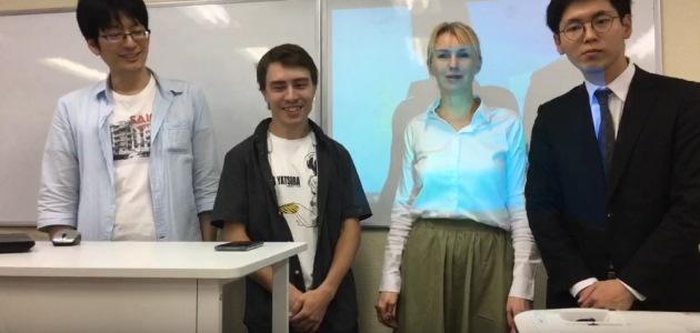 Онлайн-урок в школе Hanasaku с gaku.ru