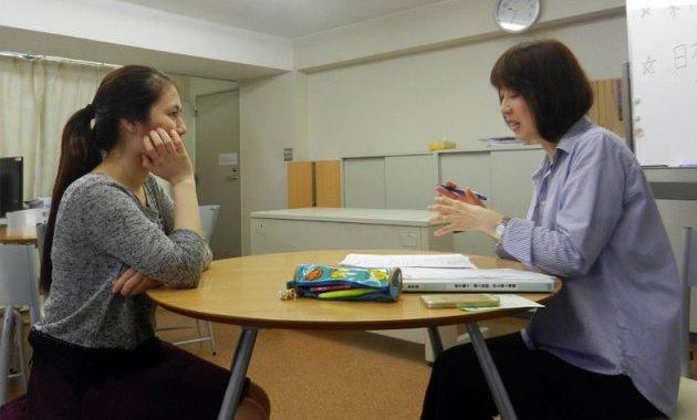 Индивидуальная консультация в школе YIEA, Йокогама