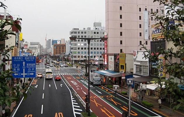 улицы Уцуномия