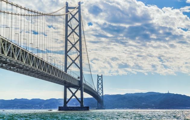 самый большой мост в Кобе