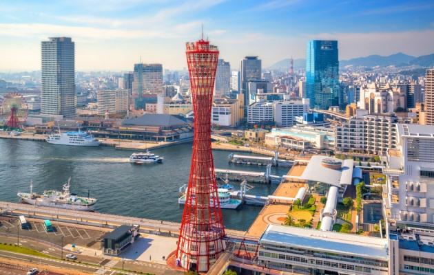 панорама Кобе