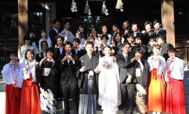 Организатор свадеб - популярная профессия в Японии