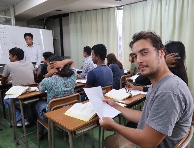урок японского в языковой школе Tamagawa
