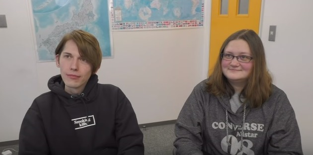Алексей и Мария - выпускники языковой школы Интеркультура