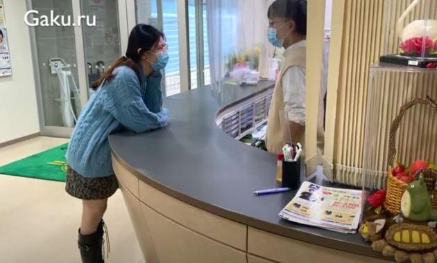 учеба в Японии - студенты языковой школы