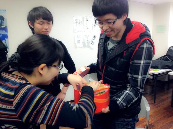 вечеринка в школе японского языка Онли Ван (Чиба,г.Фунабаси)