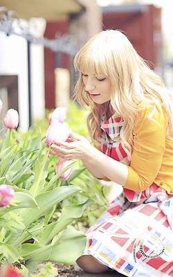 Женя Давидюк, русская сэйю в Японии
