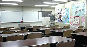 Аудитория в школе японского языка «Арк Академия»