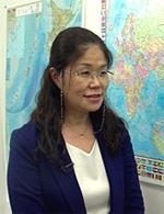 Директор школы «Интеркультура» Санаэ Като